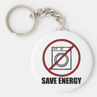 Nenhum secador SALVAR a ENERGIA Chaveiro