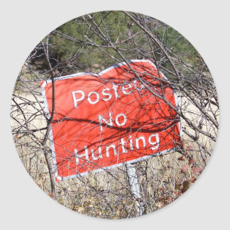 "Nenhum sinal 3"" da caça etiquetas"