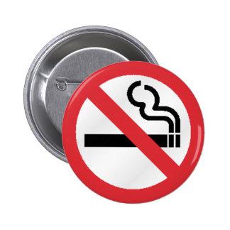 Nenhum smokeing bóton redondo 5.08cm