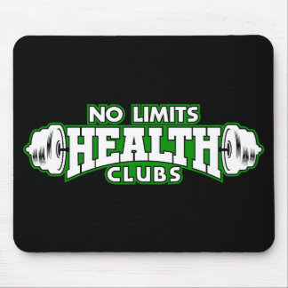 Nenhum tapete do rato dos health club dos limites mouse pad