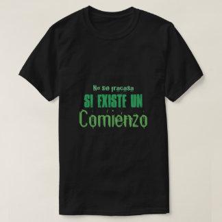 nenhum tshirt das citações do comienzo do un do camiseta