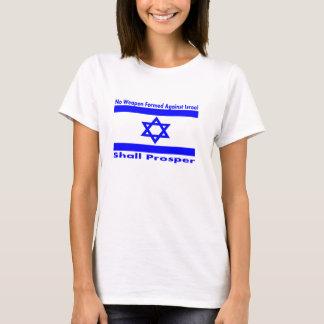 Nenhuma arma formada contra Israel progredirá Camiseta