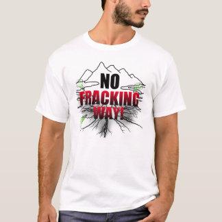 Nenhuma camisa de Fracking
