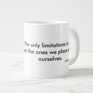 Nenhuma caneca das limitações