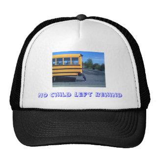 Nenhuma criança deixada atrás do chapéu do camioni boné