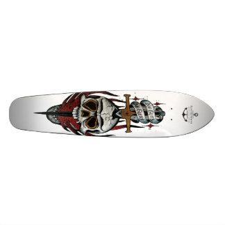 Nenhuma entranhas nenhuma glória shape de skate 20,6cm