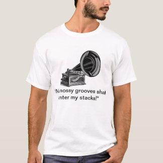Nenhuma loja de parcimônia mossy dos sulcos grava tshirts