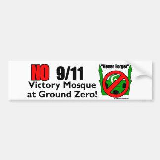 NENHUMA mesquita da vitória de 9/11 Adesivo Para Carro