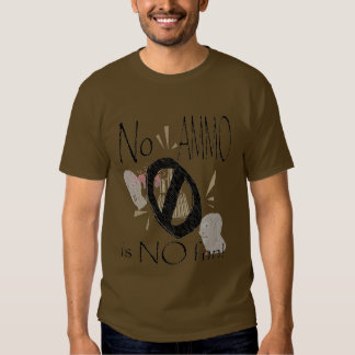 nenhuma munição nenhum divertimento tshirts