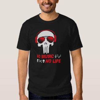 Nenhuma música nenhuma vida tshirts