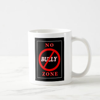 NENHUMA zona da intimidação Caneca De Café