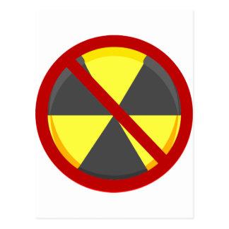 Nenhumas armas nucleares cartão postal
