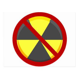Nenhumas armas nucleares cartoes postais
