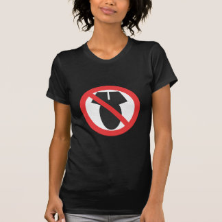 Nenhumas armas nucleares - nenhuma Guerra da Tshirt