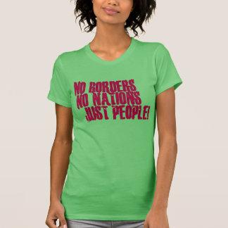 Nenhumas beiras nenhumas pessoas das nações apenas camisetas