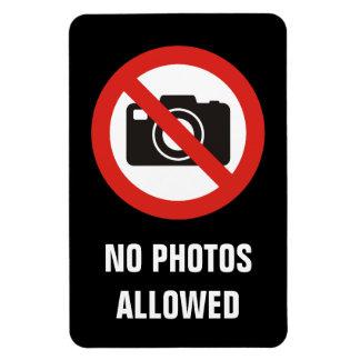Nenhumas fotos permitidas ímã