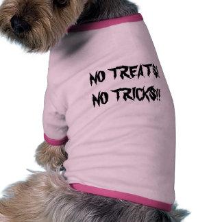 NENHUNS DELEITES! NENHUNS TRUQUES!! Camiseta de cã Roupa Para Cães