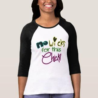 Nenhuns feltros de lubrificação para este t-shirts