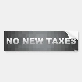 Nenhuns impostos novos adesivo