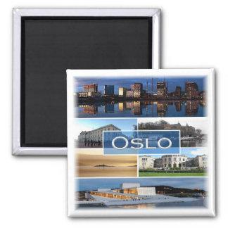 NENHUNS * Noruega - Oslo - mosaico Imã