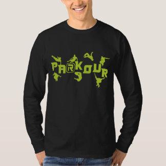 Néon de Parkour Camiseta