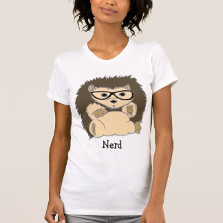 Nerd do ouriço, hipster, Geeky… Camisas T-shirts