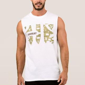Neste t-shirt você olha corajoso