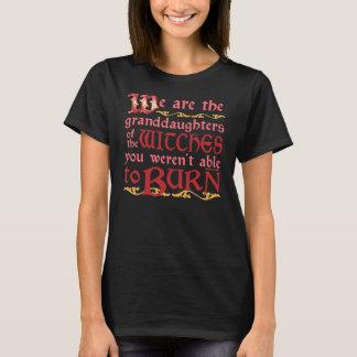Netas das bruxas camiseta