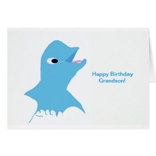 Neto do feliz aniversario cartão