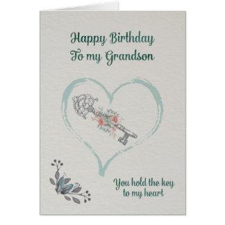 Neto do feliz aniversario cartão comemorativo