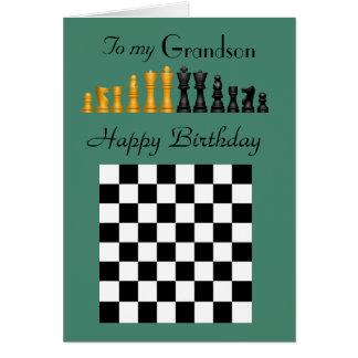 Neto - feliz aniversario - partes e conselho de cartão comemorativo