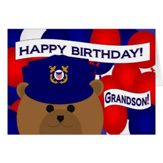 Neto - guarda da costa do feliz aniversario! cartão comemorativo