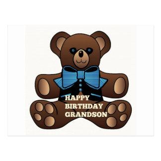 Neto Teddybear do feliz aniversario Cartoes Postais