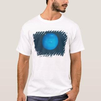 Netuno, atmosfera azul esverdeado dinâmica camiseta