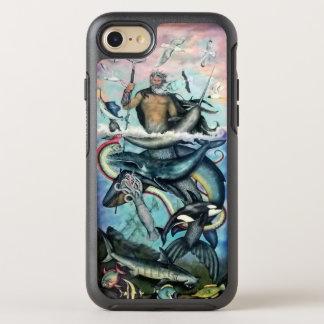 Netuno Capa Para iPhone 8/7 OtterBox Symmetry