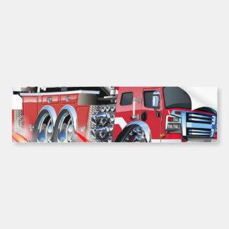 neutralização do firetruck adesivo para carro