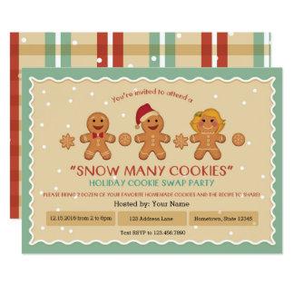 """Neva do """"o convite de festas da troca biscoito"""" de"""