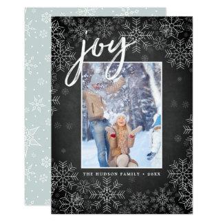 Nevado no cartão com fotos do feriado de  