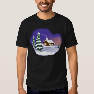 Neve do inverno camisetas