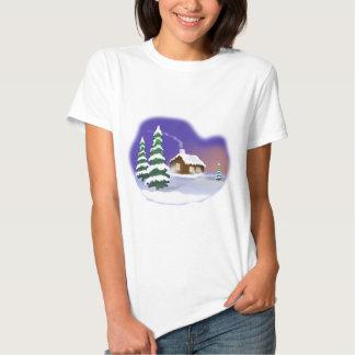 Neve do inverno t-shirts