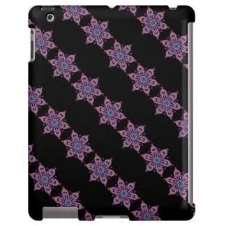 Neve floral capa para iPad