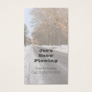 Neve que ara o cartão de visita