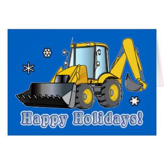 Neve que ara o cartão do feriado do negócio: