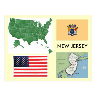 New-jersey, EUA Cartão Postal