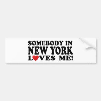 New York Adesivo Para Carro