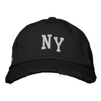 NEW YORK AFLIGIU O BONÉ DA SARJA DE TIPO DE TELA