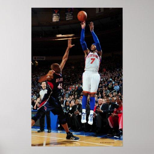 NEW YORK, NY - 22 DE FEVEREIRO:  Carmelo Anthony # Impressão