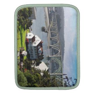 Newport Bayfront, luva do iPad da costa de Oregon Bolsa De iPad