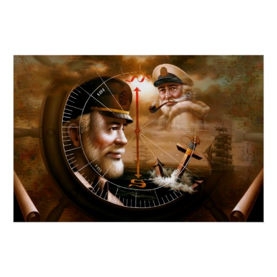 NEWS & TWO Map Captain 4 or TWO Sea Captain Poster