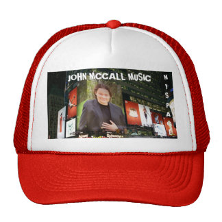 NewYorkBillboard, MÚSICA de MCCALL de JOHN, MYSPAC Bonés